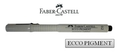 FABER-CASTELL ECCO PIGMENT Drawing Pen 166299 0.2mm Black