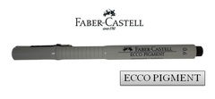 FABER-CASTELL ECCO PIGMENT Drawing Pen 166699 0.6mm Black