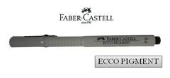 FABER-CASTELL ECCO PIGMENT Drawing Pen 166699 0.6mm Black