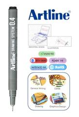 Artline Drawing System Pen 0.4mm Black