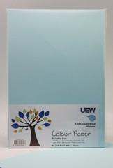 UEW Colour Paper A4 80gms - 120 Light Blue Ocean (100pcs/pack)