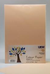 UEW Colour Paper A4 80gms - 150 Peach (100pcs/pack)