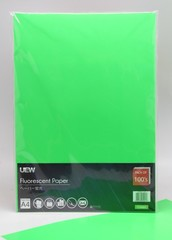 Fluorescent Paper A4 UEW 100's Green