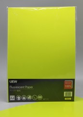 Fluorescent Paper A4 UEW 100's Yellow