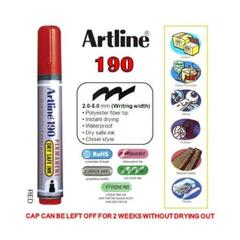 MARKER ARTLINE 190 RED