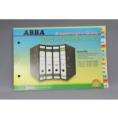 INDEX FOR ARCH FILE ABBA A-Z COLOUR