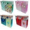 "SHOPPING PAPER BAG JD-0037/0038/0039/0040 (10.5HX13LX3.7W)"""