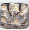 """RECYCLE SHOPPING BAG SMOOTH CLOTH TYPE 17""""x16""""x3.8"""""""