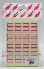 INDEX LABEL POWERLINE 20R 320's RED 18x25MM