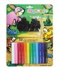 MODELLING (KIDDY CLAY) 12'S & 3D ANIMAL PLAYSET ST-200-12+B