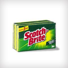 3M SCOTCH BRITE 3's SCRUB SPONGES 21-3 2.75x3.5