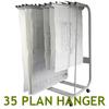 WRITEBEST Plan Hanger Stand PHS-388 30-35 D63xW97xH136.5CM