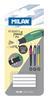 Milan 4 Spare Erasers for PL1 Mechanical Pencil Blister BTM10311