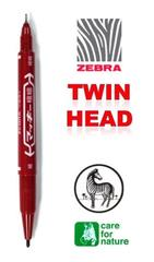 ZEBRA Mckee Permanent Marker Twin Head MO-120-MC Extra Fine