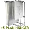 WRITEBEST Plan Hanger Stand PHS-188 10-15 D63xW46xH145CM