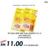 DEAL004#2 PKT Pet Sign Here Tape Flag P12-19 44X12MMX50's Kingpin