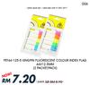 DEAL006#2 PKT Kingpin PET44-125-5 Fluorescent Colour Index Flag