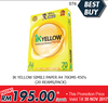 DEAL076#20 REAMS IK Yellow Simili Paper A4 70GMS 450's Best Buy