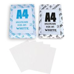 Duplicating White Paper A4