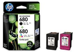 Cartridge HP 680 Colour & Black Twin Pack (X4E78AA)