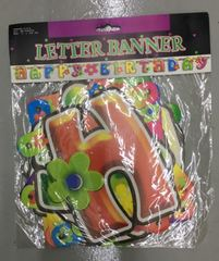 Happy Birthday Card Board Banner