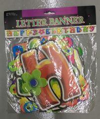 Happy Birthday Card Board Banner