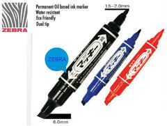 [SLM] TWIN HEAD PEN ZEBRA HI-MCKIE MO-150-MC BOARD BLUE