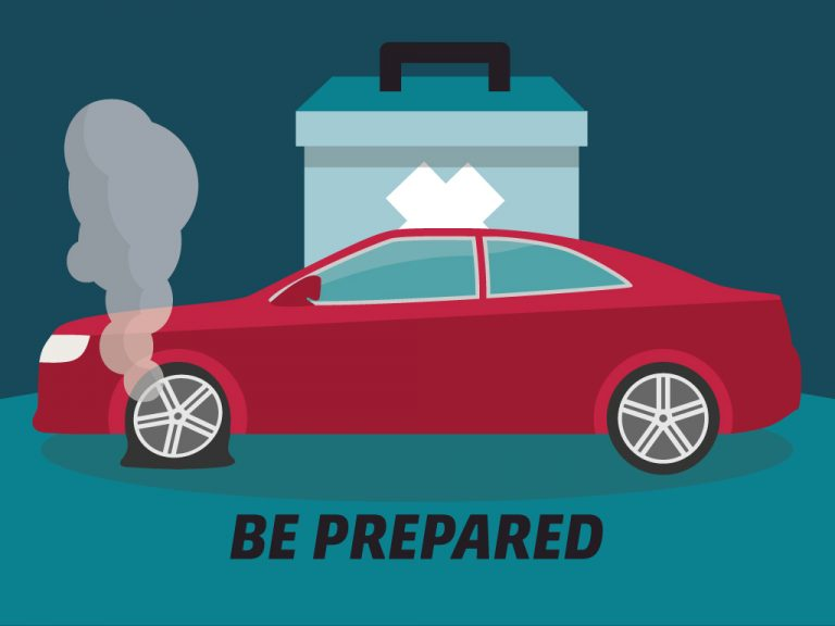 Getting Car Ready for a Long Trip Tip #5: Be Prepared