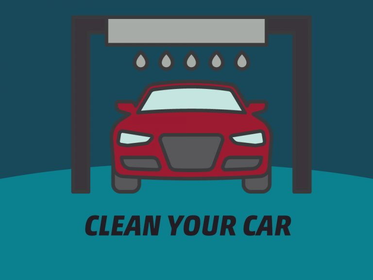 Getting Car Ready for a Long Trip Tip #1: Clean Your Car
