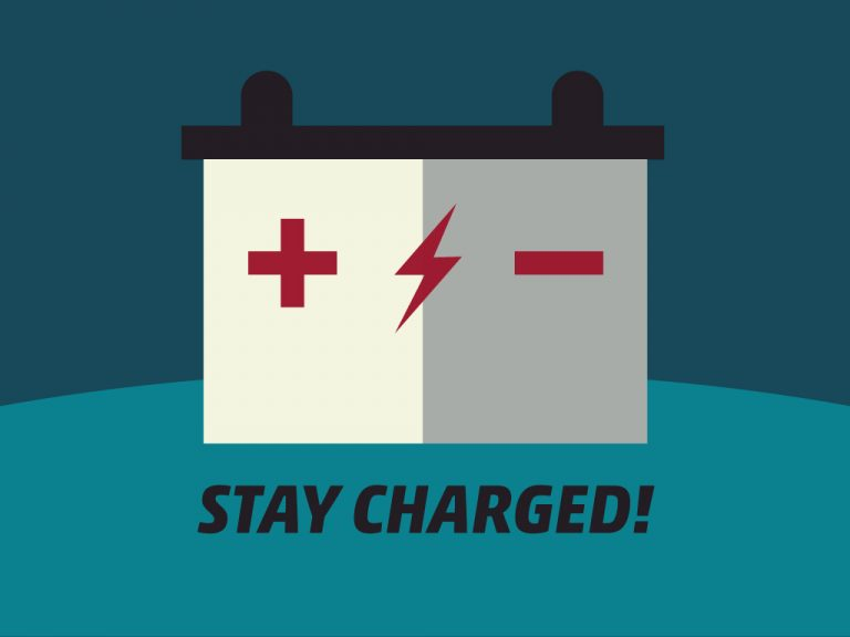 Getting Car Ready for a Long Trip Tip #3: Stay charged