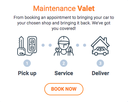 Maintenance Valet Service - Car Pick-up and Delivery