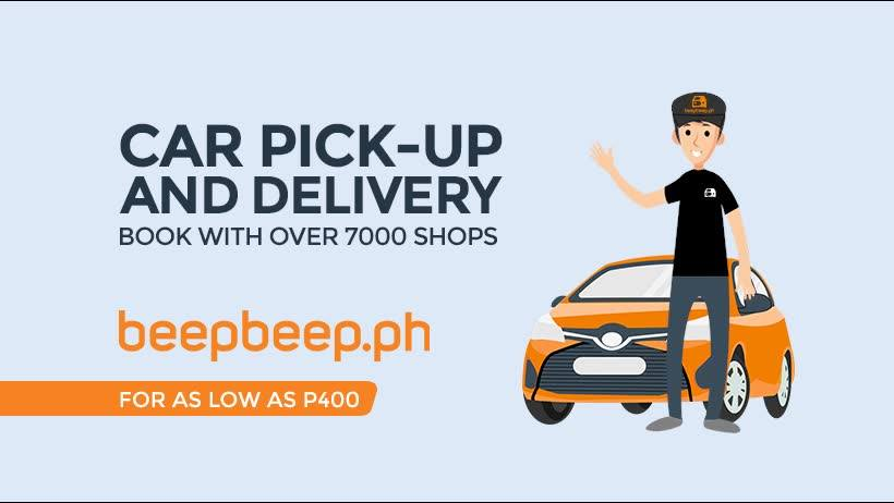 Car Care Center: Maintenance Valet: Car Pick-up and Delivery - beepbeep.ph