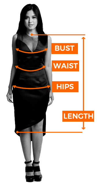 Sizing guide cocktail