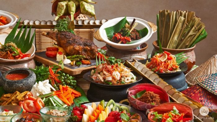 raya food buffet