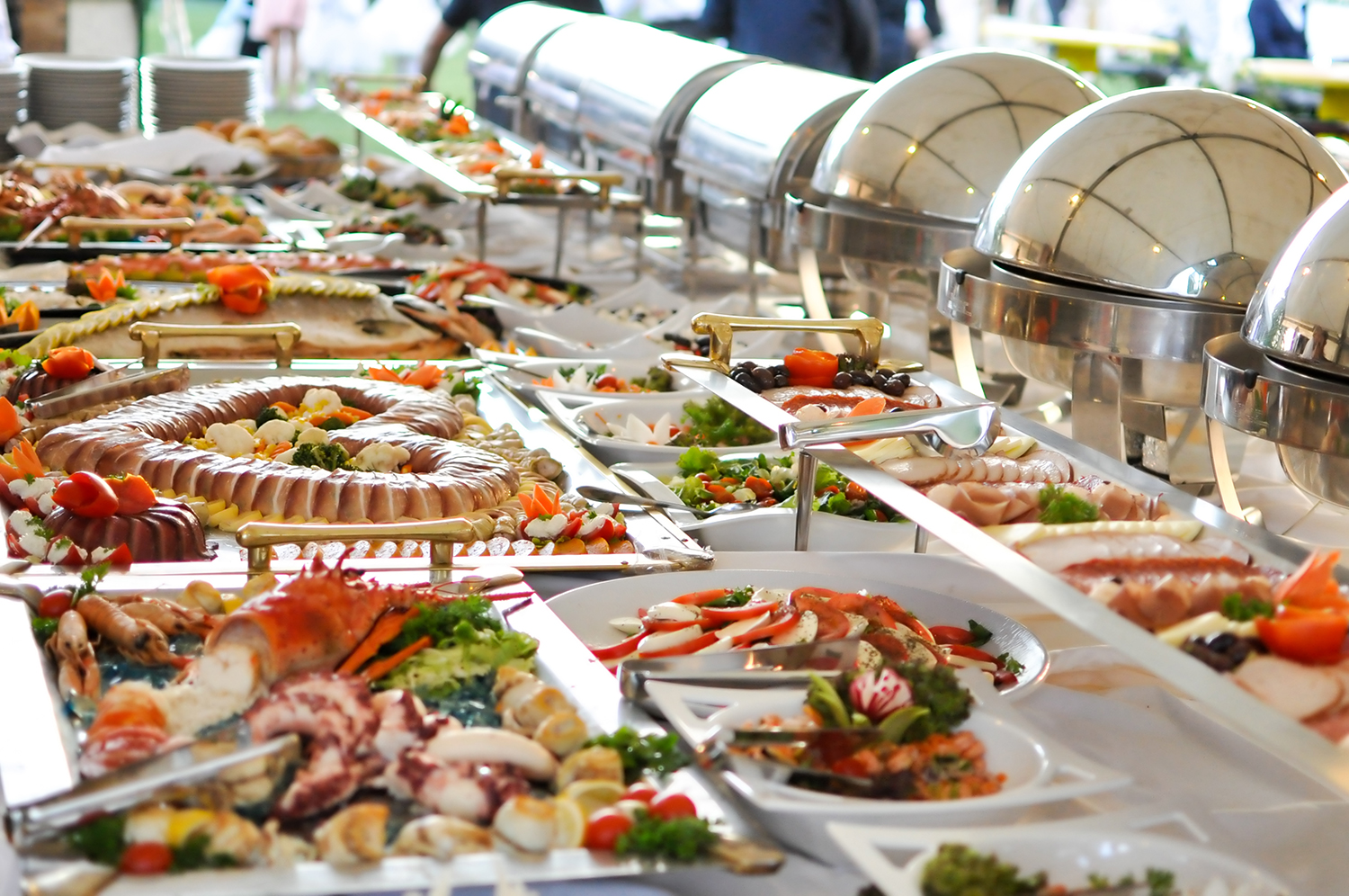 How to find adult human food buffet partyservice