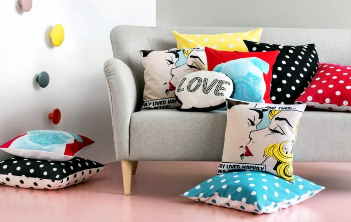 unique pillows interior design