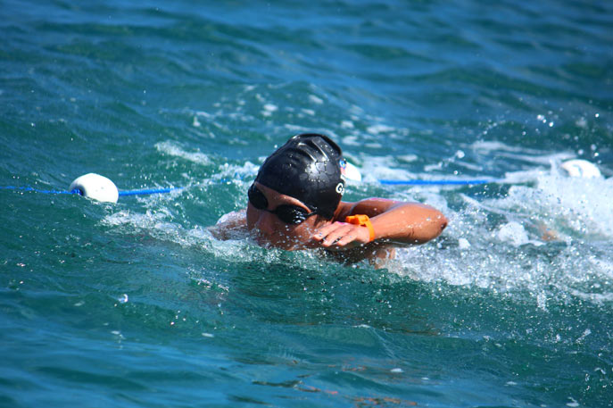 heidi gan open water swimming2