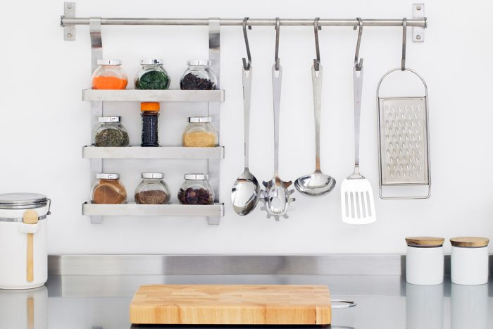 organised kitchen