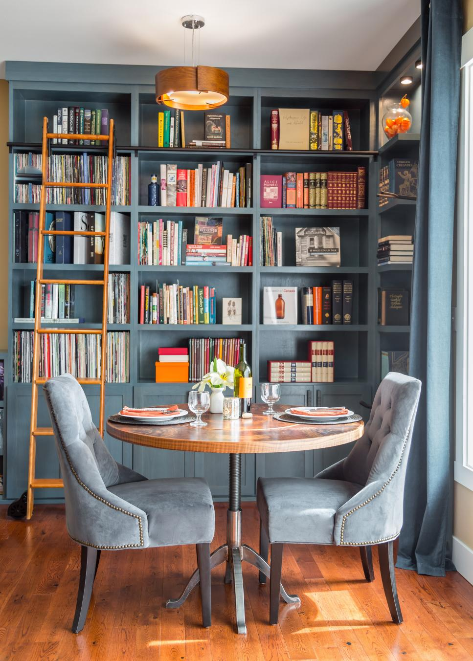 5 Home Library Designs That Will Make You Love Reading