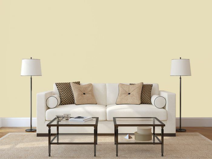 wall colour - pale yellow