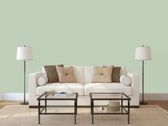 wall colour - mint green