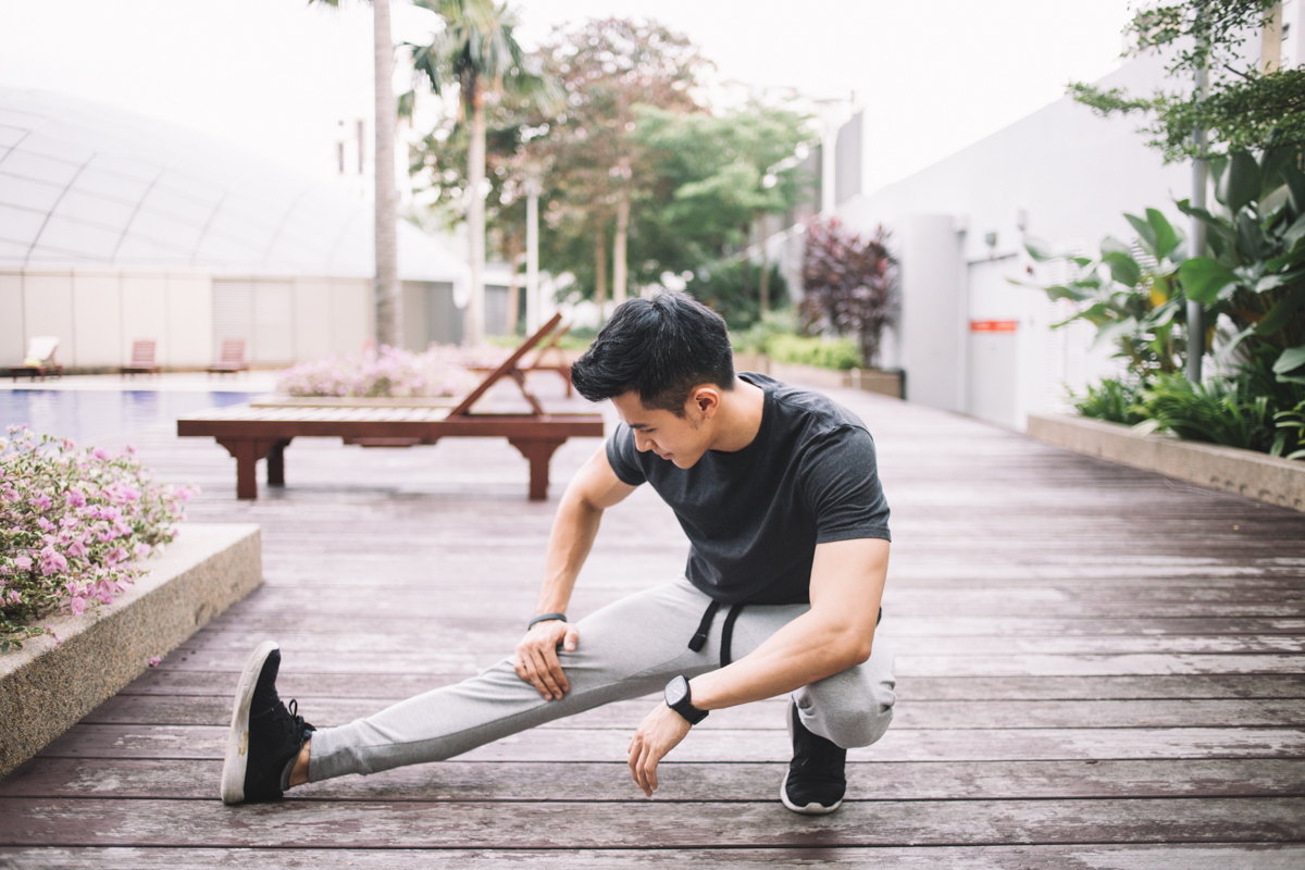 justin chan of fly - personal trainer on the go
