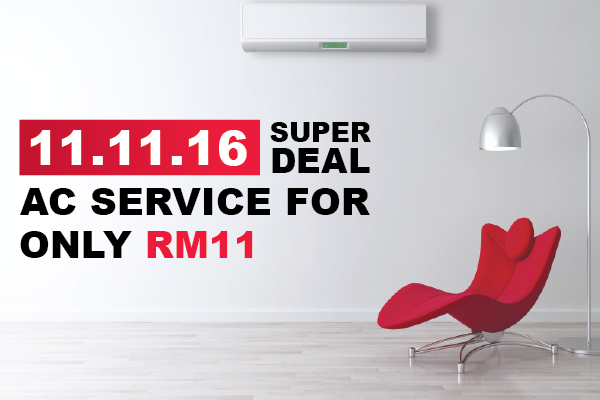 RM11 Aircond Service