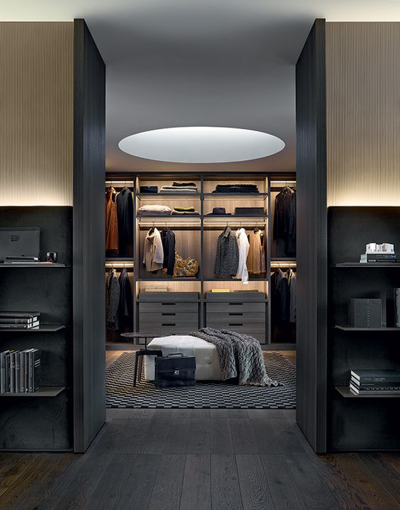The best walk in wardrobe designs out there for His and hers walk in closet