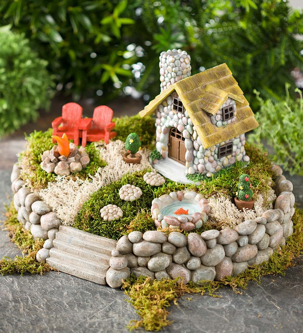 miniature fairy home