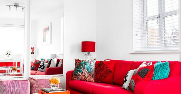 red-living-room-sofa