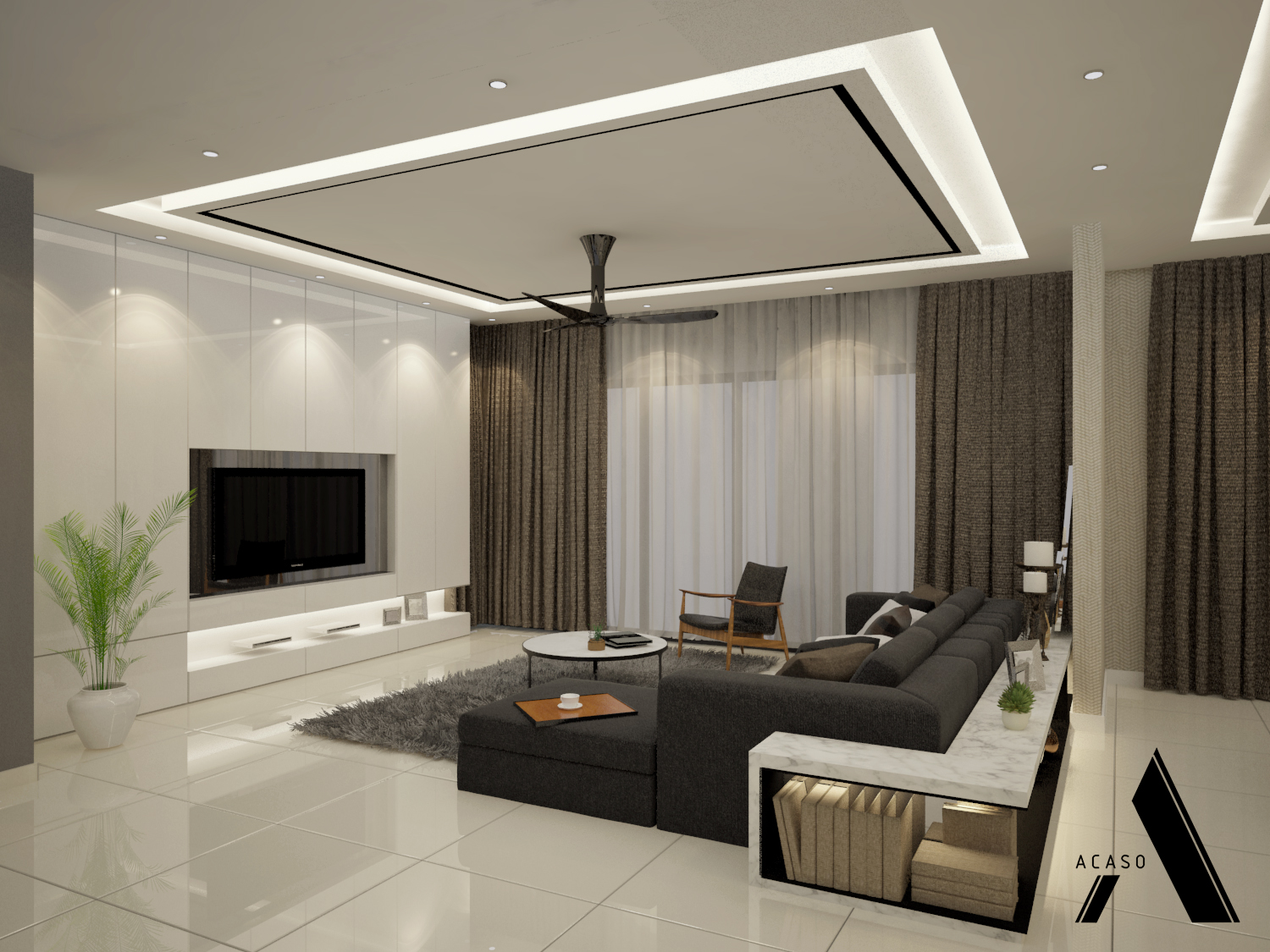 7 Beautiful Home Designs By Talented Malaysian Interior ...