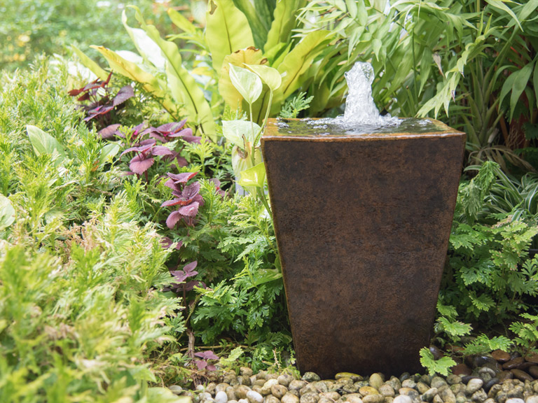 Beautiful and simple water feature