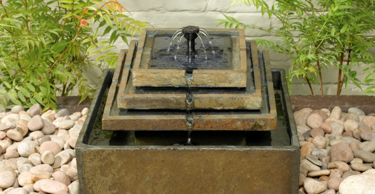 Small and nice water feature