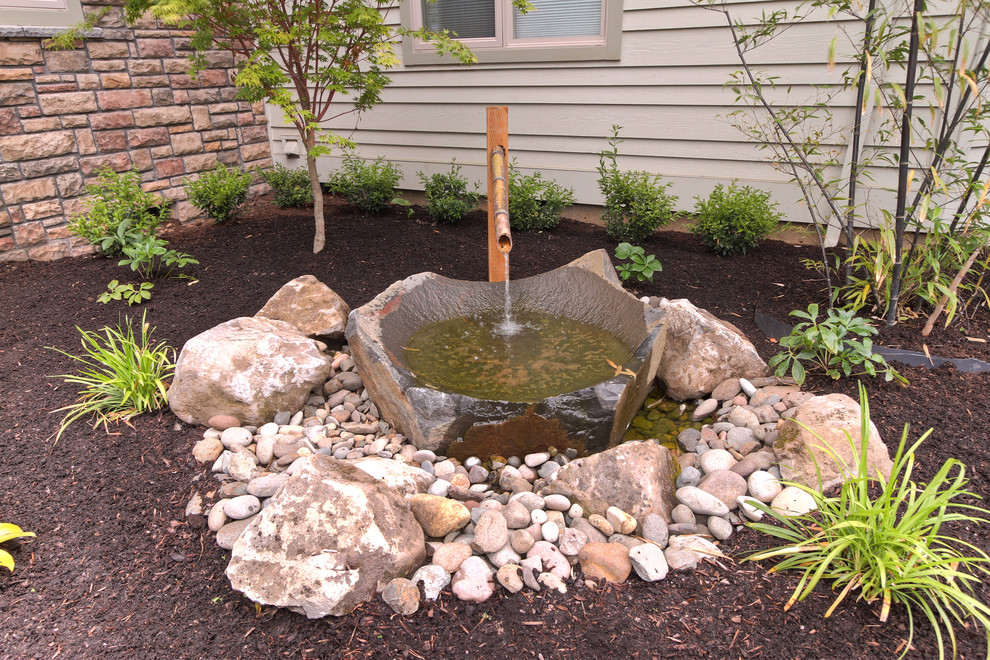 Beautiful and traditional water feature